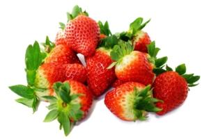 frische erdbeeren für smoothie