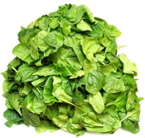 frischer spinat für Smoothie