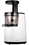 HUROM HH-WBE11 Slow-Juicer, Kunststoff, weiß, 17.1 x 24.9 x 39.8 cm -